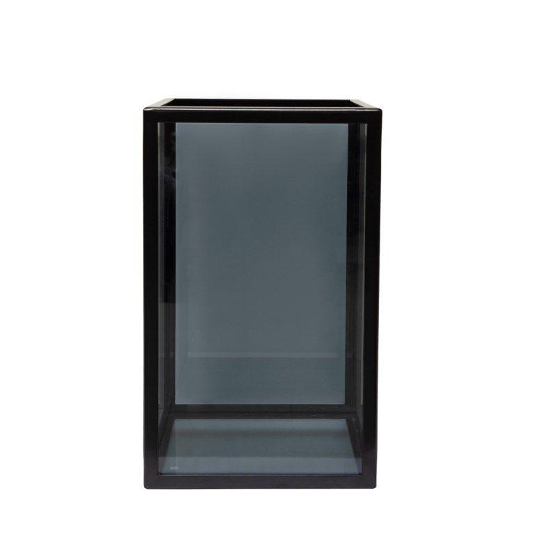 ПОДСВЕЧНИК HURRICANE SMALL GLASS, АРТИКУЛ LV3-S1/BLA, DOME DECO