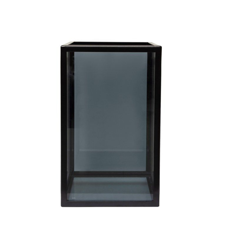 ПОДСВЕЧНИК HURRICANE MEDIUM GLASS, АРТИКУЛ LV3-S2/BLA, DOME DECO